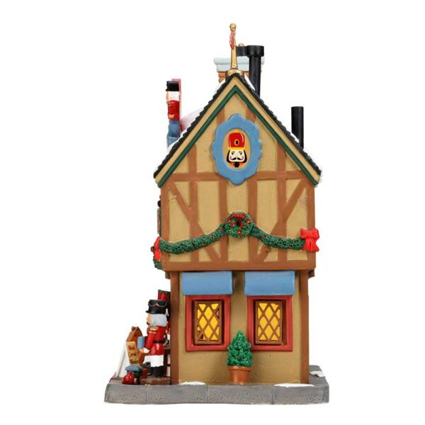 Lemax Nutcracker & Wood Toy Carver