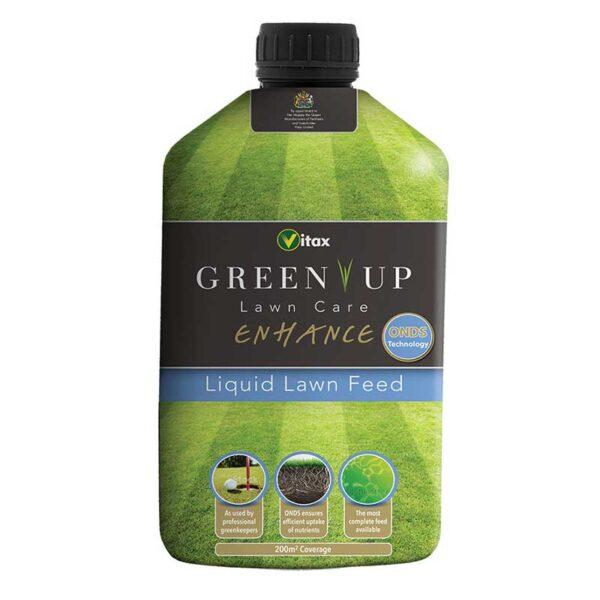 Vitax Green Up Lawn Care Enhance Liquid Lawn Feed
