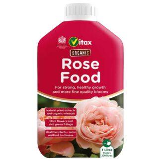 Vitax Organic Liquid Rose Food 1 litre Bottle