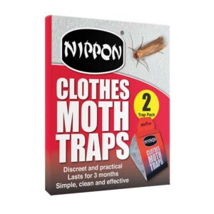 Nippon Clothes Moth Traps (2 Trap Pack)