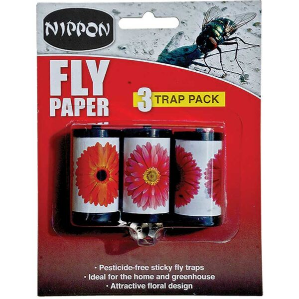 Nippon Fly Papers 3 Pack