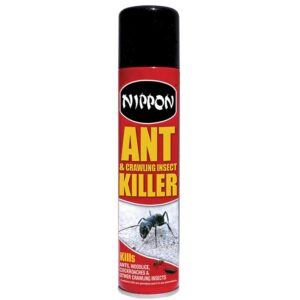 Nippon Ant & Crawling Insect Killer: 300ml Aerosol