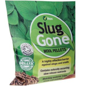 Vitax Slug Gone Wool Pellets - 1 litre Pouch