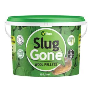 Vitax Slug Gone Wool Pellets - 10 litre Tub