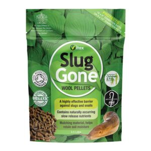 Vitax Slug Gone Wool Pellets: 3.5 Litre Tub