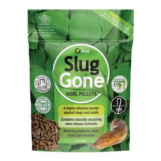 Vitax Slug Gone Wool Pellets: 3.5 Litre Tub