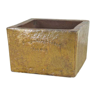 Errington Reay & Co. Ltd Courtyard Square Planter Old Leather