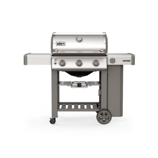 Weber Genesis II S-310 GBS Gas Grill Barbecue (Stainless Steel)