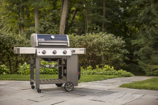 Weber Genesis II E-310 GBS Gas Grill Barbecue (Black) looks great on any patio
