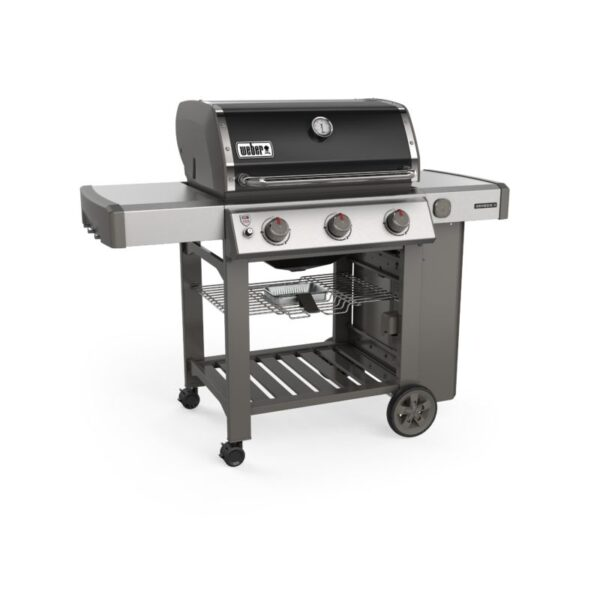 Weber Genesis II E-310 GBS Gas Grill Barbecue (Black) side profile
