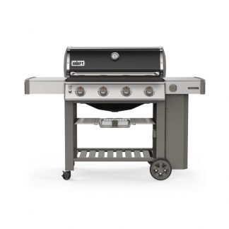 Weber Genesis II E-410 GBS Gas Grill Barbecue (Black)