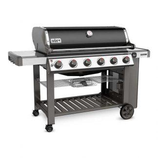 Weber Genesis II E-610 GBS Gas Grill Barbecue (Black)