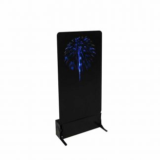 Lemax Blue Fireworks Display Unit