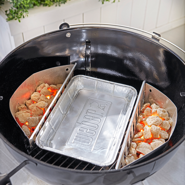 Using Weber Barbecue Large Drip Pans (10 Pack) #6416