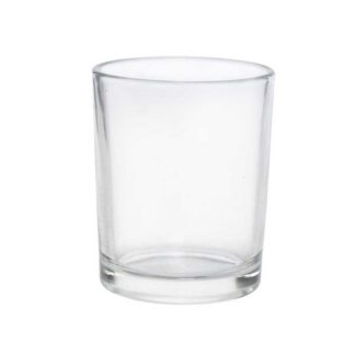 Clear Glass Tealight Holder