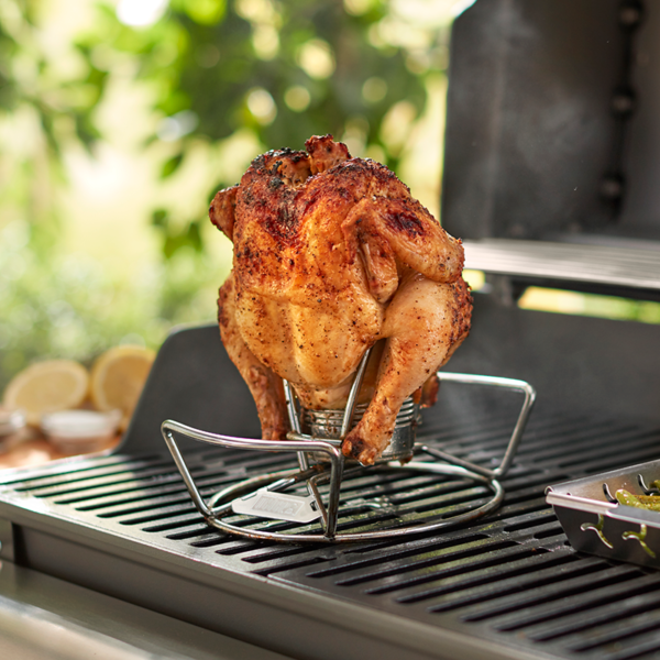 Using a Weber Poultry Roaster