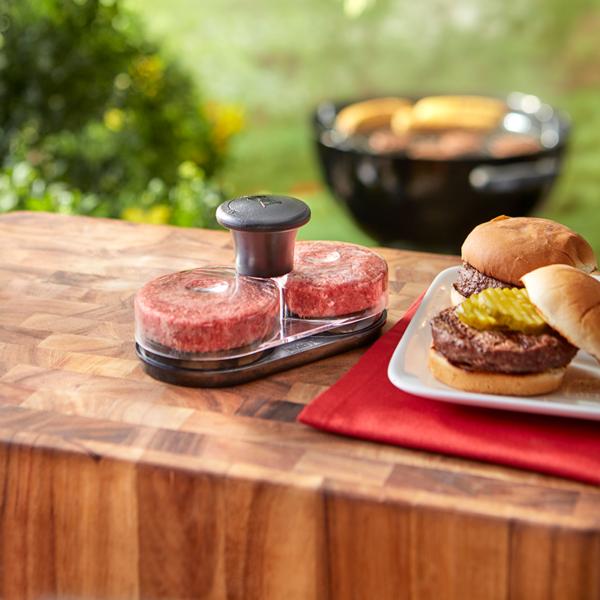Weber Original Slider Press - makes 2 Sliders (Mini Burgers) at a time