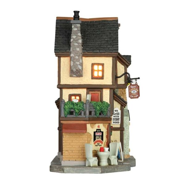 Lemax The Brick Oven Cafe - Side View