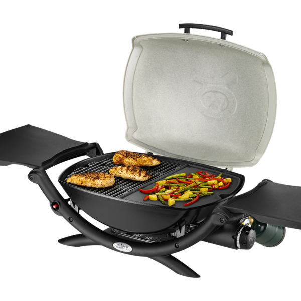 Using the Weber Barbecue Cast Iron Griddle for Q 200 / 2000 Series