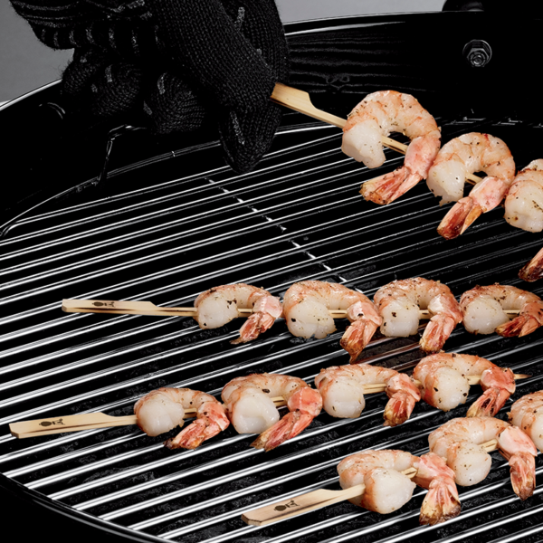 Easy to use Weber Bamboo Skewers