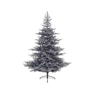 Everlands Grey Frosted Grandis Fir Artificial Christmas Tree