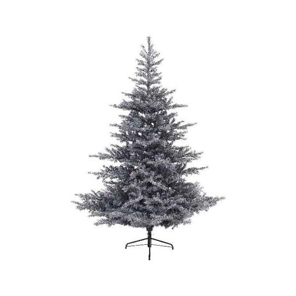 Artifical Christmas Trees.Everlands Grey Frosted Grandis Fir Artificial Christmas Tree
