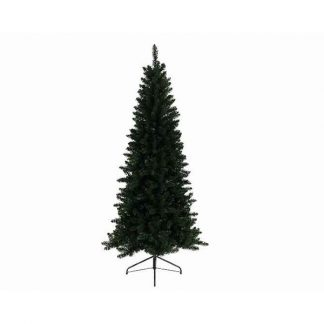 Everlands Lodge Slim Pine Artificial Christmas Tree