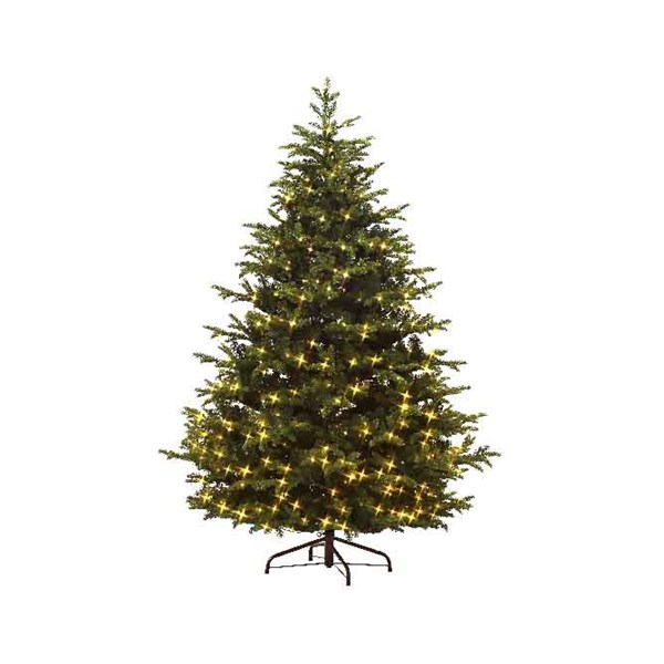 Everlands Mountain Spruce Pre-Lit Artificial Christmas Tree