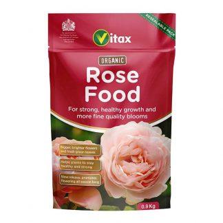 Vitax Organic Rose Food 900g Pouch