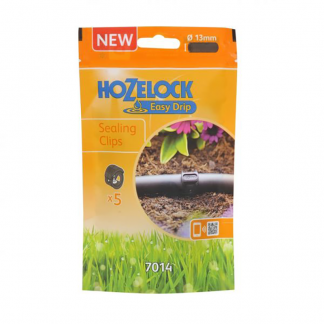 Hozelock Easy Drip Sealing Clips (Pack of 5)