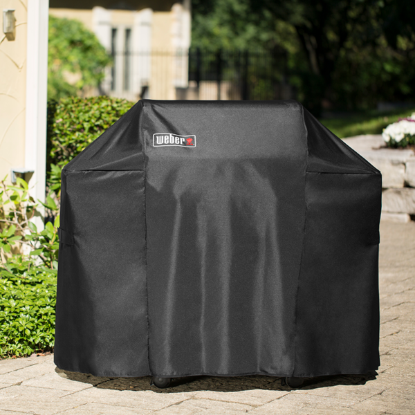 Weber Barbecue Grill Premium Cover for Spirit 210 (Black)