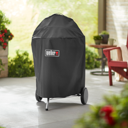 The Weber Premium Barbecue Cover for 57cm Charcoal Barbecues (Black) #7143