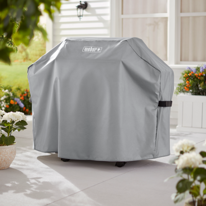 Weber Barbecue Cover for Genesis II 2 burner Gas Barbecues (Grey)