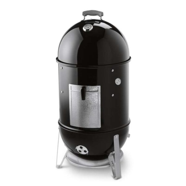 Weber Smokey Mountain Cooker Smoker 47cm (Black) + FREE Cover