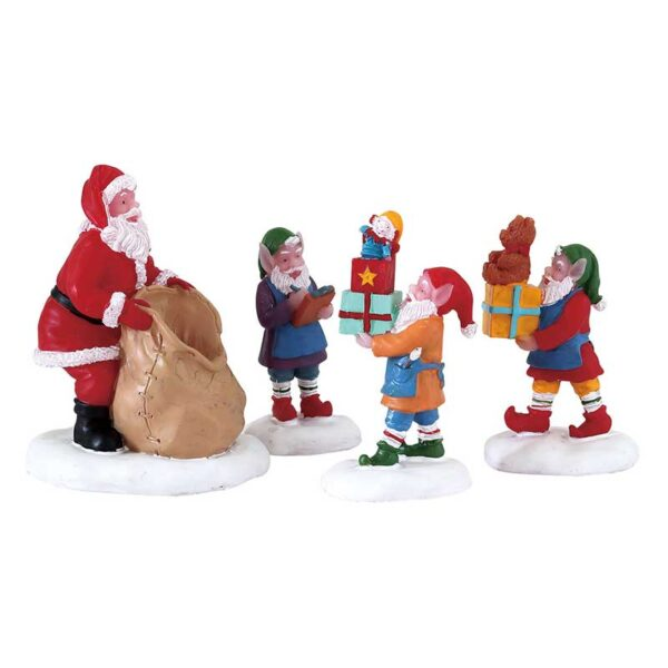 Lemax Present Procession - Set Of 4 Pieces