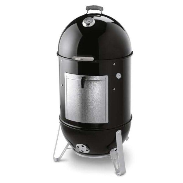 Weber Smokey Mountain Cooker Smoker 57cm (Black) + FREE Cover
