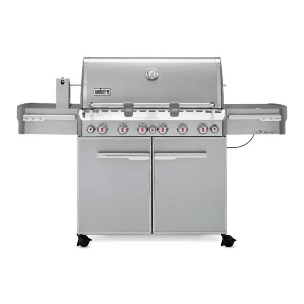 Weber Summit S-670 GBS Gas Grill Barbecue (Stainless Steel)