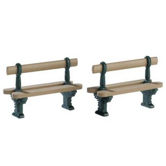 Lemax Double Seated Bench - Set of 2