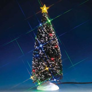 Lemax Christmas Tree with 24 Multi-Coloured Lights