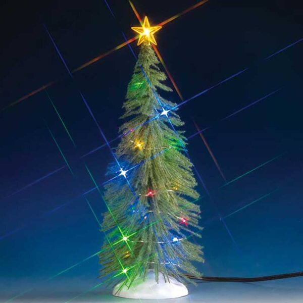 Lemax Spruce Tree with CHasing Lights