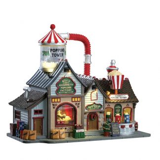 Lemax Bell's Gourmet Popcorn Factory