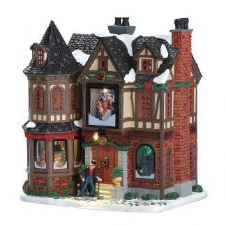 Lemax Scrooge's Manor