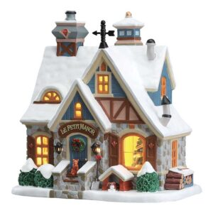 Lemax Le Petit Manor Model Building