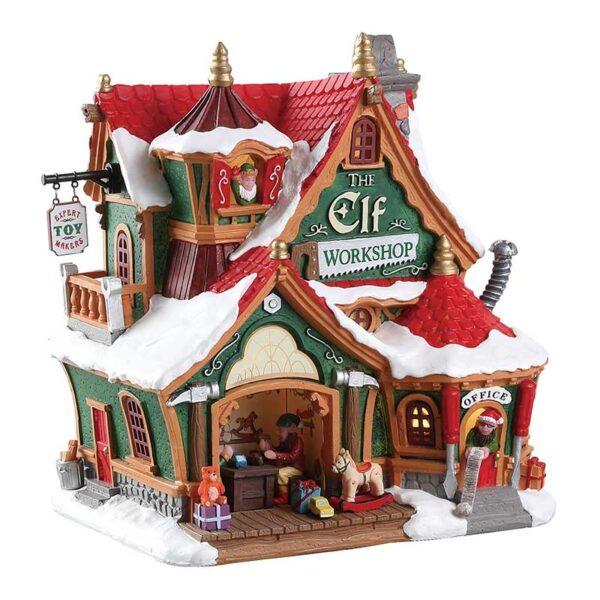 Lemax The Elf Workshop Lighted Building