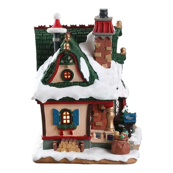 Lemax The Claus Cottage Lighted Building