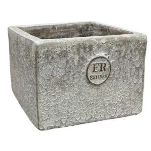 Errington Reay & Co. Ltd Elementals Square Planter Lava Quartz