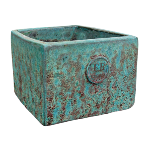Errington Reay & Co. Ltd Elementals Square Planter Lava Jade
