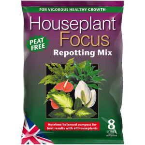 Houseplant Focus Peat Free Repotting Mix 8 Litres
