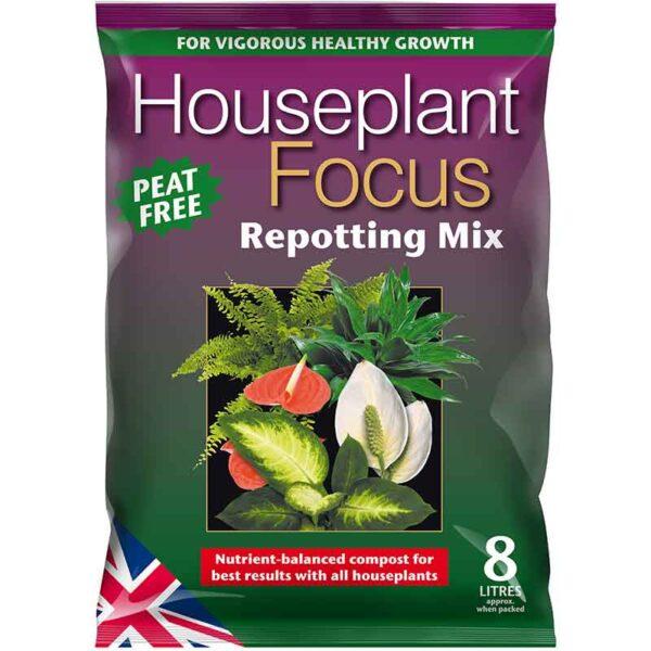 Houseplant Focus Peat Free Repotting Mix 8 Litres