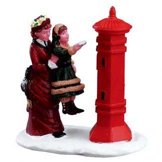 Lemax Letter to Santa Figurine